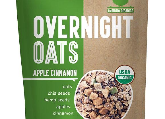Apple Cinnamon Overnight Oats by Overnight Organics - 10 pack