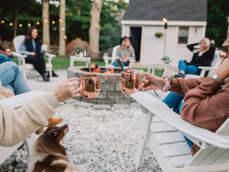 How To Host Your Own Mood Boosting Micro-Gathering With Your Friends This Fall