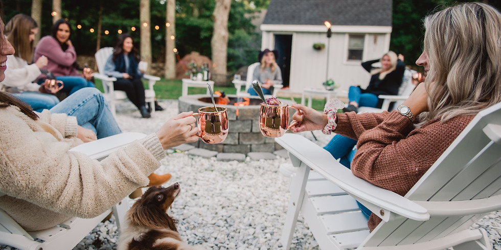 Healthy Fire Pit Picnic at Holly Hill Farm