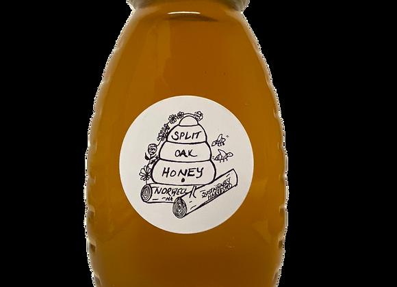 Ultra Local Raw Honey (Norwell, MA) by Split Oak Honey - 16 oz jar