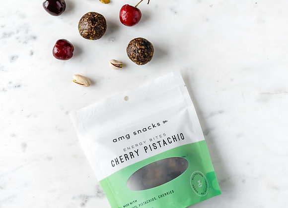 Cherry Pistachio Energy Bites by AMG Snacks - 1 bag