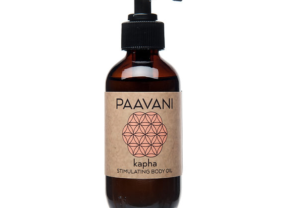 Kapha Body Oil by PAAVANI Ayurveda - 8 oz