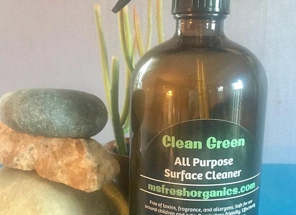 Clean Green All Purpose Spray by Ms. Fresh Organics