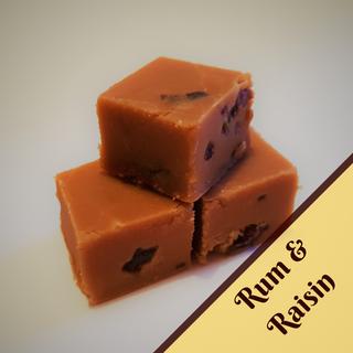 Rum & Raisin Fudge