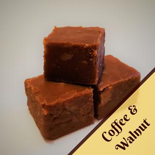 Coffee and Walnut Fudge