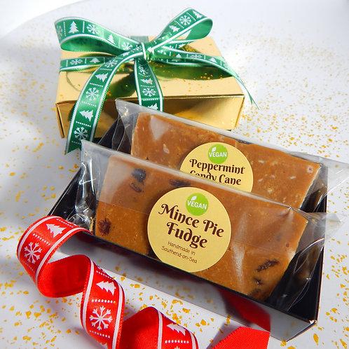 *VEGAN* Two Bar Fudge Gift Box