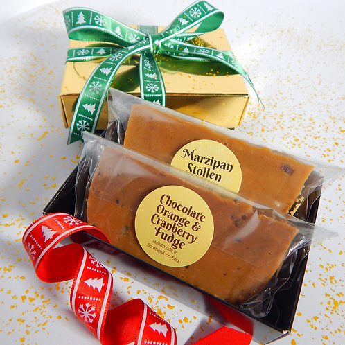 Two Bar Fudge Gift Box