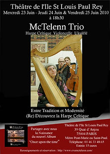affiche eve mctelenn harpe celtique