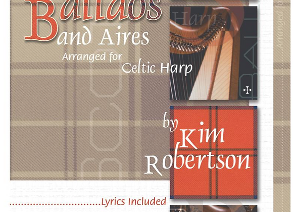 Scottish Ballads and Aires by Kim Robertson
