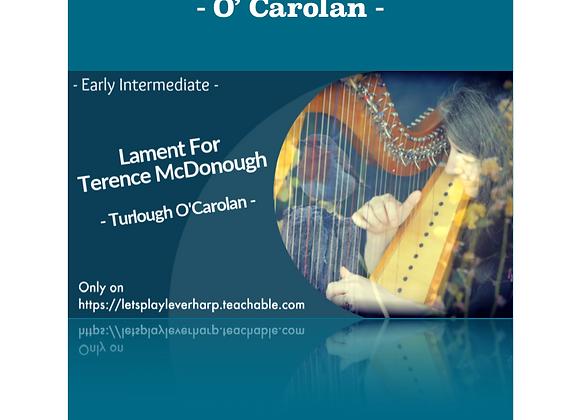 Lament For Terence MacDonough / Turlough O'Carolan