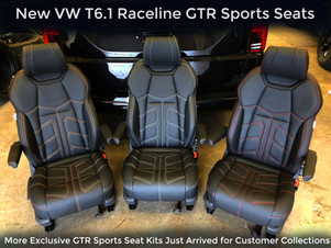 CUSTOM VW T6 TRANSPORTER SWB KOMBI RACELINE GT IN ORYX WHITE