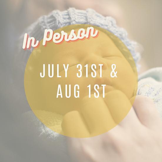 July 31st & Aug 1st