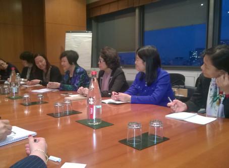 Journées avec la délégation All-China Women's Federation