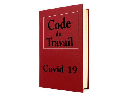 Covid-19 - Droit du travail : Tableau de synthèse à télécharger