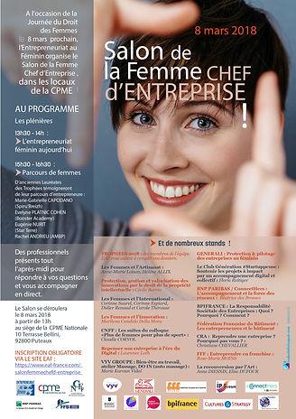 Salon EAF de la Femme Chef d'Entreprise