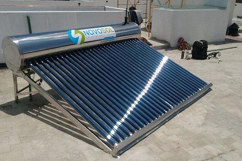 Calentador Solar Solaris NovoSol. 30 Tubos. 9 Personas