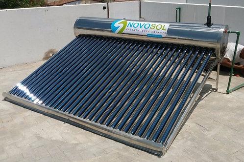 Calentador Solar Solaris NovoSol. 20 Tubos. 7 Personas