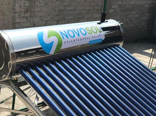 Calentador Solar Solaris NovoSol. 24 Tubos. 8 Personas