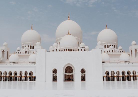 Mosque Sheikh Zayed, United Arab Emirates