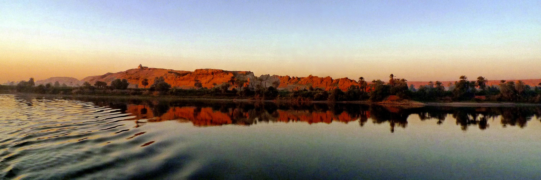 bank of river Nile near Assuan