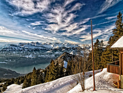 view from the Rigi/ CH