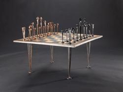 chess set by Volker Scheurer