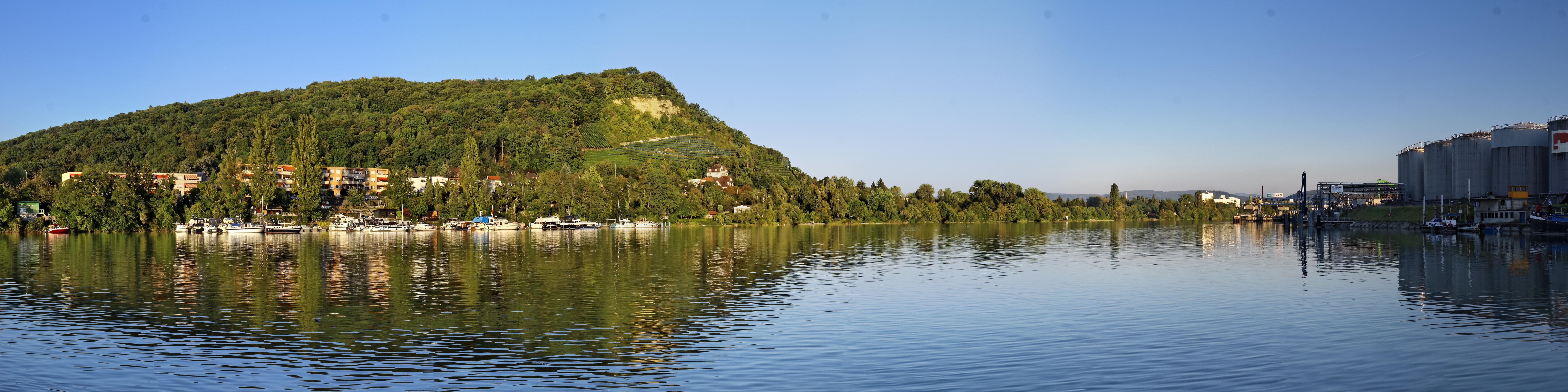 Grenzacher Hornfelsen & River Rhine