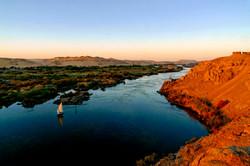 river Nile cataracts, near Assuan