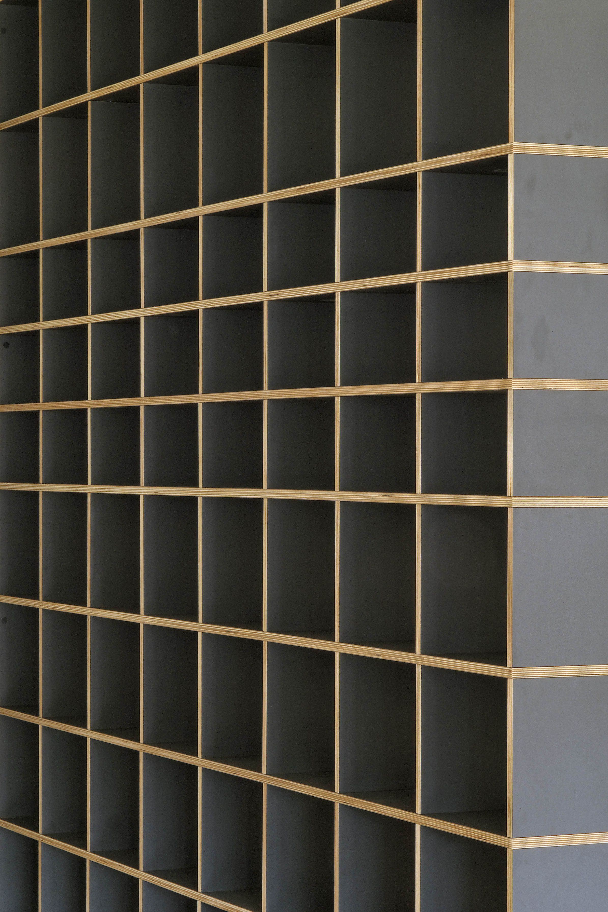 wooden rack by Oeschger cabinetry