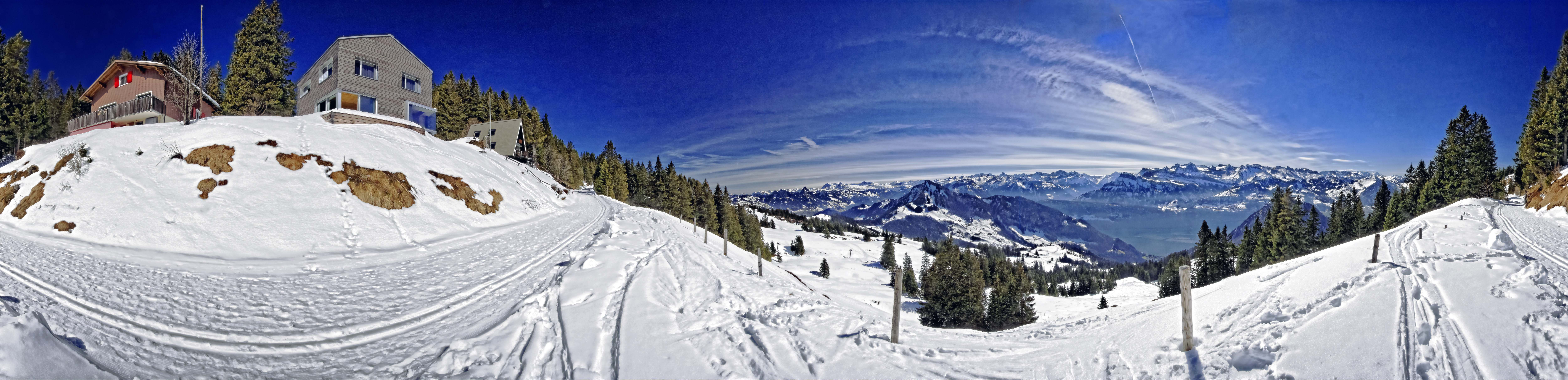 360 degree view from the Rigi/ CH