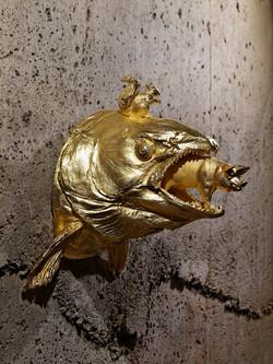 gilded bronze by Volker Scheurer