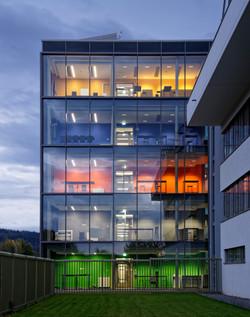 office building 4 of bnNetze in Freiburg