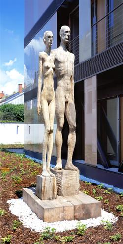 """""""Etruscian couple"""" by Konrad Winzer"""