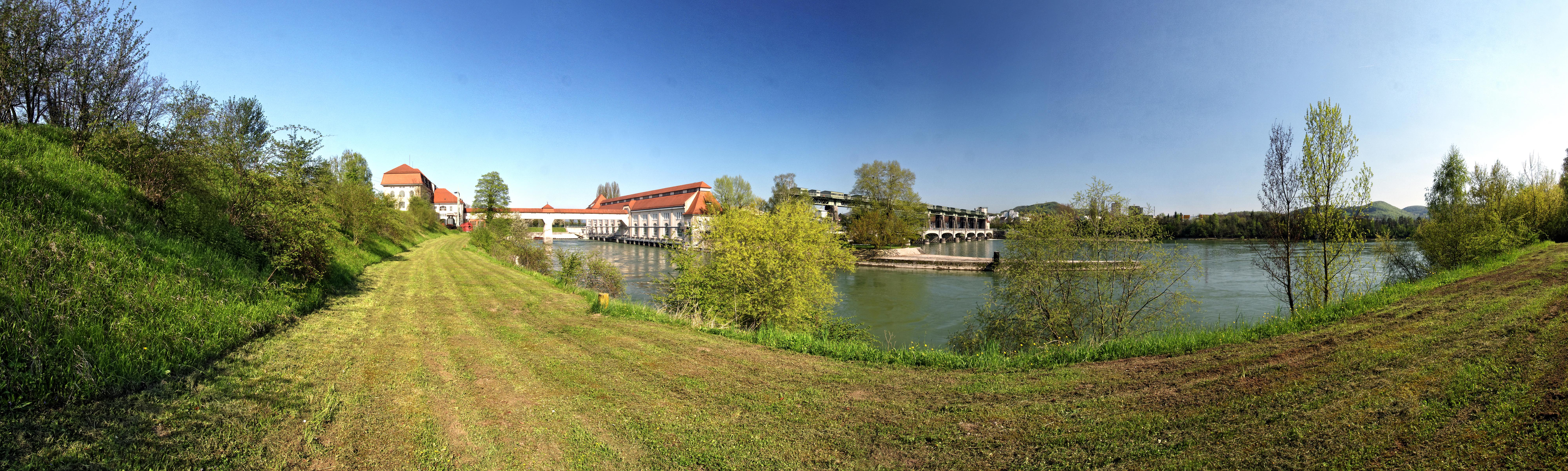 hydroelectric powerstation Wyhlen