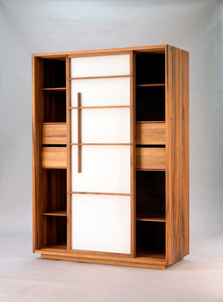 wardrobe by Oeschger cabinetry