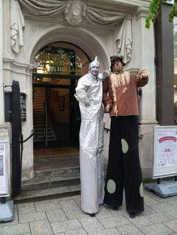 Tin Man and Scarecrow
