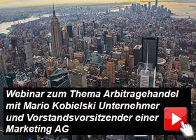 In diesem Webinar wird Ihnen die Funktionsweise der Arbitragehandelssoftware AQUA erklärt