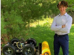 Autonomous Snowplow Inventor takes First Prize in Minneapolis Regional Chamber's Young Entrepreneurs