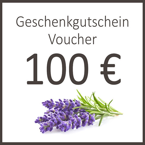 Geschenkgutschein / Voucher