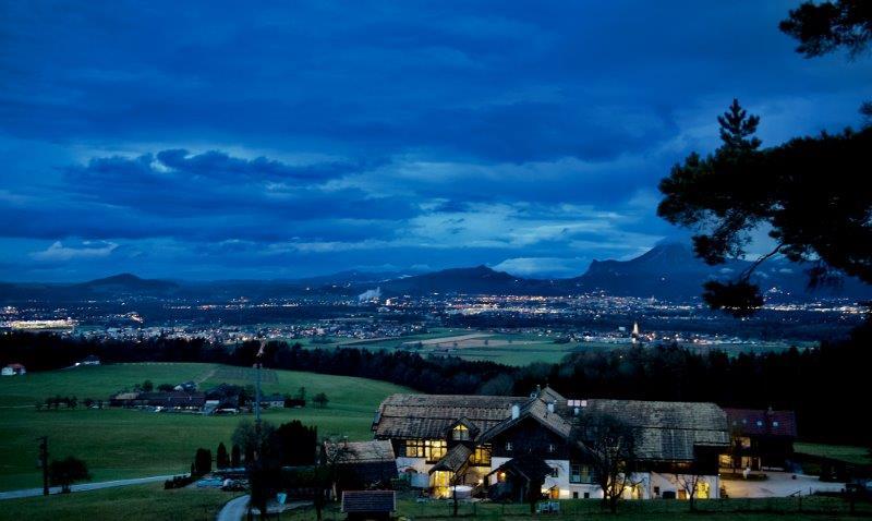 ..herrliche Aussicht über Salzburg