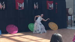 Jasmine performs at Sprint's Annual OASIS ERG Asian Heritage Month Celebration