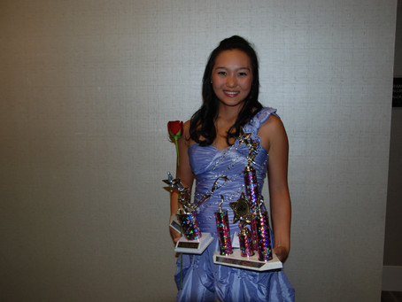Jasmine Dancer attends Kansas NAM Pageant
