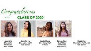 Congratulations to our Jasmine seniors!