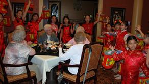 Chinese New Year Celebration at Santa Marta