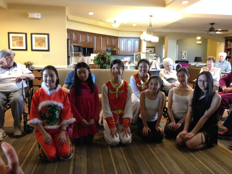 Giving Heart performs at Heritage of Overland Park senior home