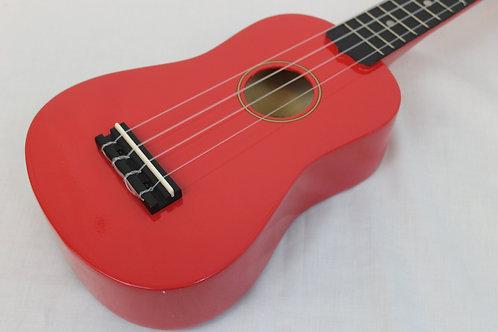 Diamondhead DU-102 Soprano Ukulele with Gig Bag-Red