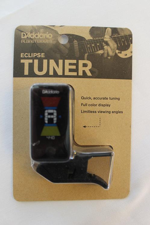 D'Addario Eclipse Tuner, PW-CT-17BK, Black
