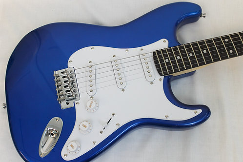 Austin AST100BL Double Cutaway Electric Guitar-Blue