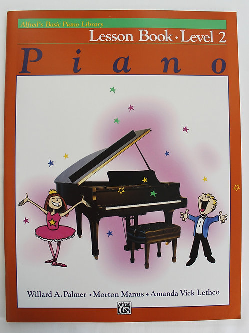 Alfred's Basic Piano Library Lesson Book Level 2