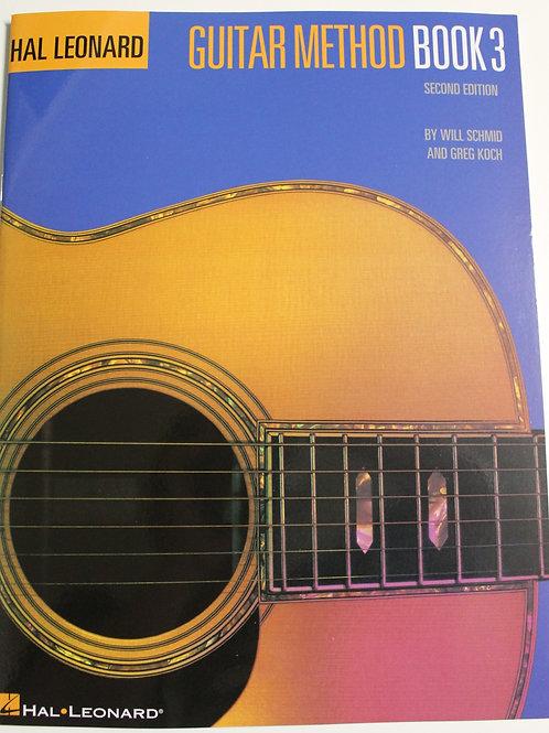 Guitar Method Book 3